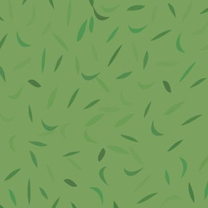 How green the lawn