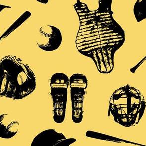 Baseball Gear on Sweet Corn // Large