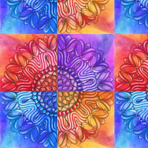 Distress Mandala