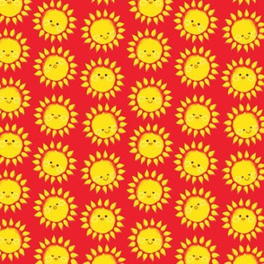 sunny suns in Red