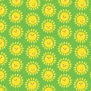 Sunny suns in Green