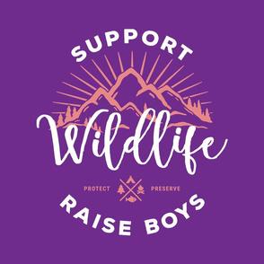 18 inch - Raise Boys Purple - NO GUIDES