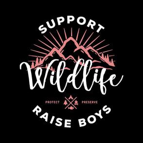 18 inch - Raise Boys Black - NO GUIDES
