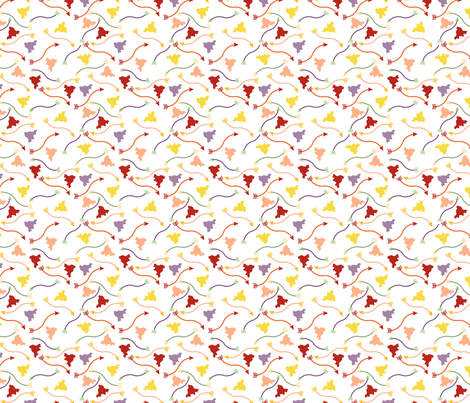 Mother's Day Arrows fabric by se_winch on Spoonflower - custom fabric