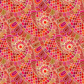 Ethnic swirls pattern