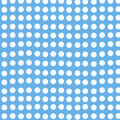 Wavy Dots in Blue Sails