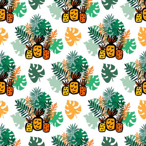 Tropical  pineapple pattern