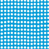Wavy Dots in Surf Blue