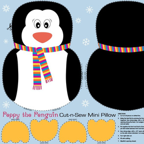 Peppy the Penguin Cut and Sew