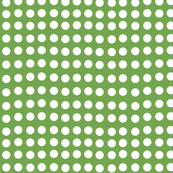 Wavy Dots in Imperial Green