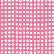 Wavy Dots in Petal Pink