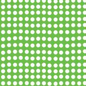 Wavy Dots in Apple Green