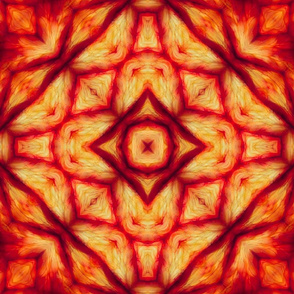 Red silky pattern
