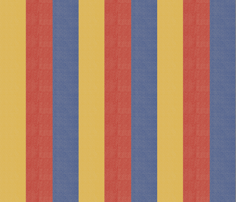 A Nod to Bauhaus Stripes fabric by anniedeb on Spoonflower - custom fabric