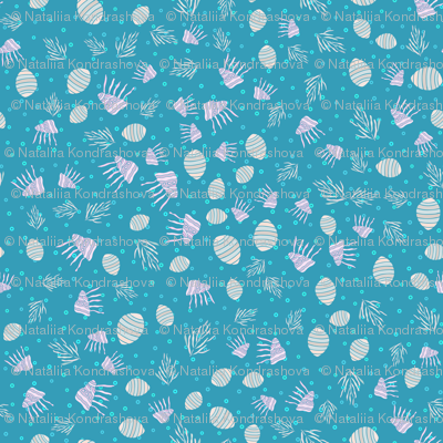 Sea life pattern1