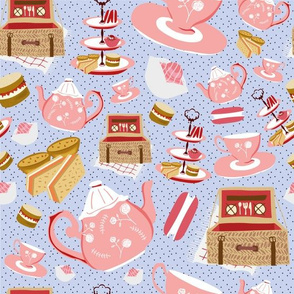 Pink Picnic Afternoon Tea