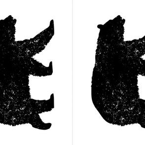 27x36 Black Bear Panel