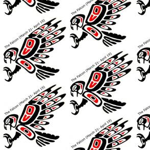 Native American Zodiac Falcon