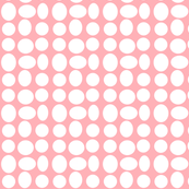 Pebbledots in Pale Pink