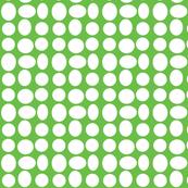 Pebbledots in Apple Green