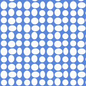 Pebbledots in Racing Blue