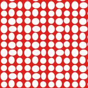 Pebbledots in Ribbon Red