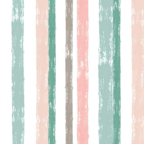 Brushstroke Stripe, Eucalyptus
