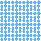 Pebble Dots in Blue Sails (inverted)