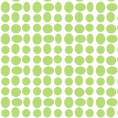 Pebble Dots in Sweet Lime (inverted)