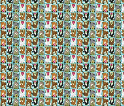 Forest Critters fabric by coleenlochabay on Spoonflower - custom fabric