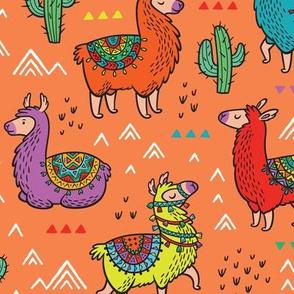 Happy llamas_big scale