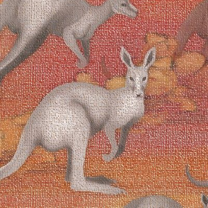 A Mob of Kangaroos