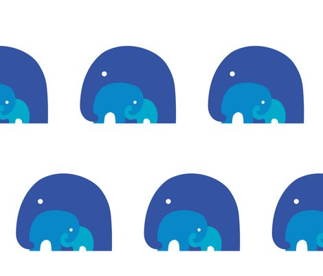 Rrrrrrrelephantfamily_blue_shop_preview