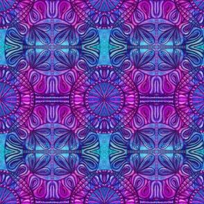 Quilt square purple