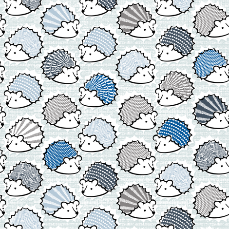 Hedgie fabric by fleabat on Spoonflower - custom fabric