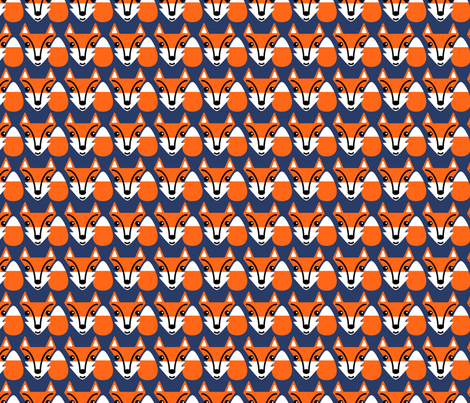 Foxy Check fabric by seesawboomerang on Spoonflower - custom fabric