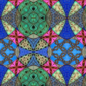 Doodle patchwork