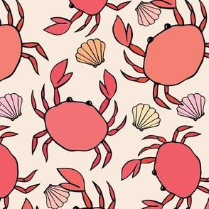 Shoreline crabs