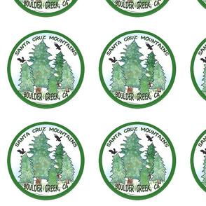 Green Boulder Creek logo