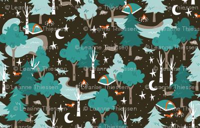 Among the Trees, Beneath the Stars