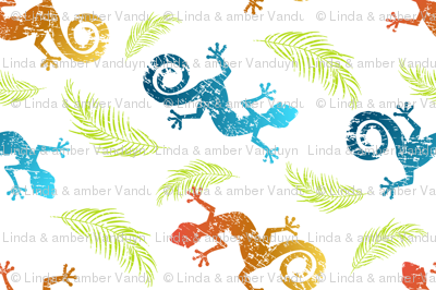 Geckos and Ferns