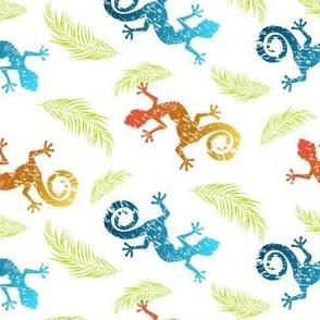 Geckos and Ferns