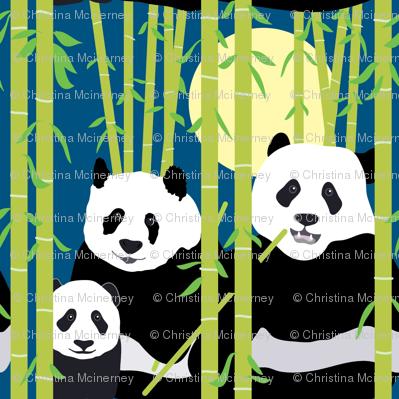 Bamboo Pandas