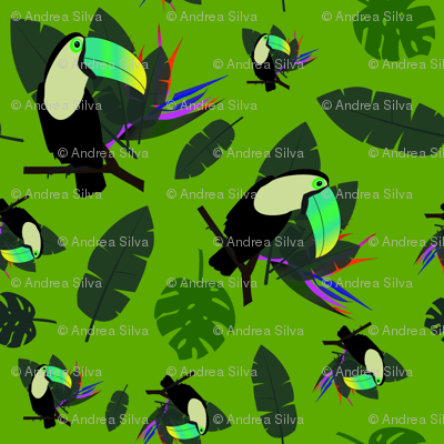 Green Tucan