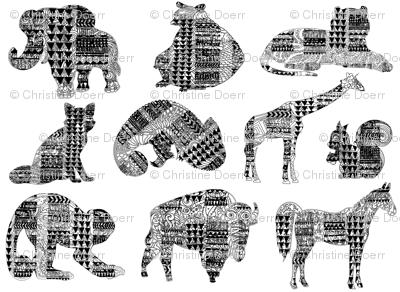 Land Animals Tribal