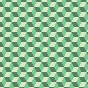 Green Abstract Geometric