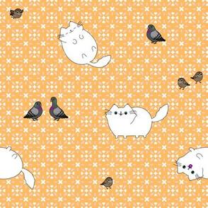 Sh!t Cat and Birdies