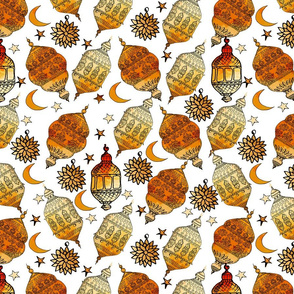 Ramadan  arabic seamless pattern