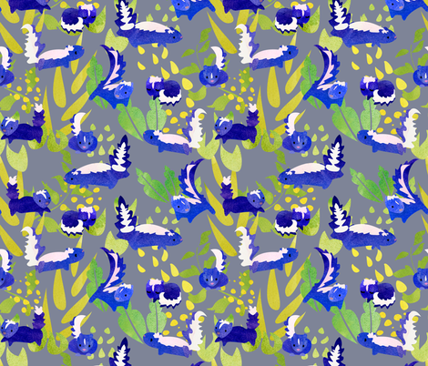 stinkers fabric by ghouk on Spoonflower - custom fabric