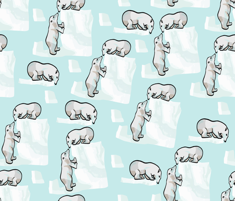 Po Bears fabric by doris_rguez on Spoonflower - custom fabric